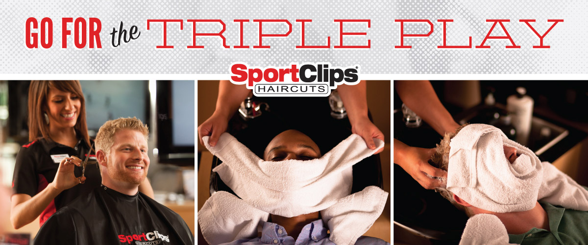 The Sport Clips Haircuts of Portland 205 Place Triple Play